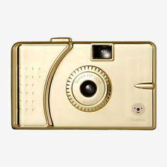 SUPER FAT Wide-Angle 35mm Camera in gold! $35