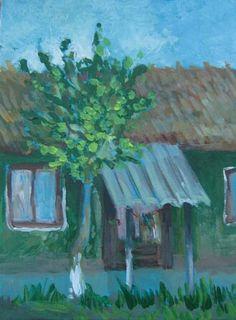 Grandma house. Artist: Simona Zalinca