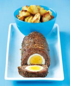 Το ρολό όπως πρέπει: 12 συνταγές για τα καλύτερα μαγειρέματα - www.olivemagazine.gr Greek Recipes, Meat Recipes, Recipies, Cooking Recipes, Minced Meat Recipe, Mince Meat, Meatloaf, Bon Appetit, Food Network Recipes