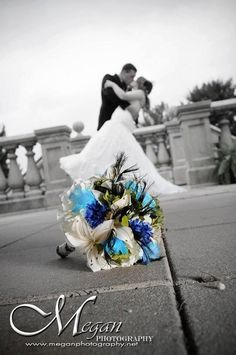 Peacock Feather Custom Order Bridal Bouquet.via Etsy : by: 3mimis