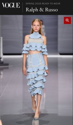 Ralph   Russo Spring 2018 Ready-to-Wear Fashion Show Collection  See the  complete Ralph   Russo Spring 2018 Ready-to-Wear collection. 24f10c77a93