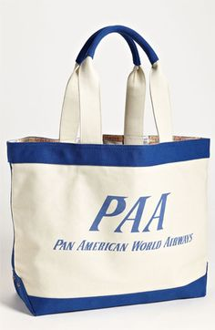 Pan Am 'PAA' Tote available at #Nordstrom