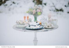 Winter Chills - Wedding Inspiration | Styled Shoots | The Pretty Blog