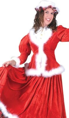 Deluxe Holiday Honey Christmas Costume « Clothing Impulse {I NEED this} Christmas Dress Up, Cowboy Christmas, Best Christmas Gifts, Christmas Fun, Christmas Recipes, Mrs Clause Costume, Santa Costume, Holiday Fashion, Holiday Outfits