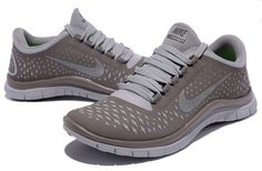 Nike Free 3.0 V4 Womens Running Shoe Coffee Brown Reflective Silver