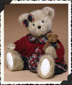 "Boyds Bears ""Sheri B Bearican & Clif ""  16"" Plush Bear #904250-NWT-2004 -Retired"