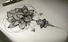 Image result for lace flower tattoo