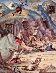 Montangeschichte: Bergbau, Eifel, Blei, Zink, Bergwerk, Bergwerke,