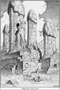 Фантастический арт от Philippe Caza (183 работ)