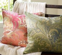 Madeline Paisely Pillow Cover #potterybarn
