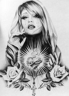 chicano tattoo art - Google zoeken