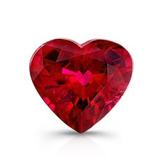 Genuine Heart Shape Pigeon Blood Red Ruby - Vora Gems - Product Search - JCK Marketplace
