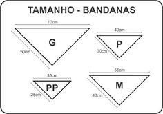 Resultado de imagen para MOLDES DE BANDANA PET