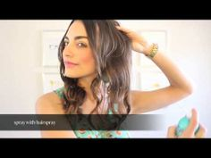 ▶ Easy Loose Curls - Love, Olia - YouTube