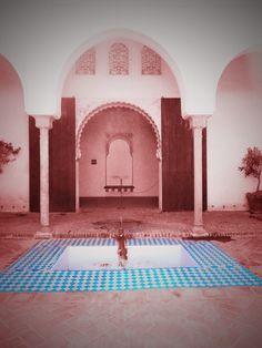 Patio de la Alberca de la Alcazaba. Málaga.