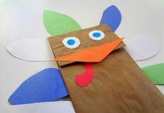 Turkey Paper Bag Puppet