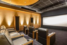 Top 70 Best Home Theater Seating Ideas - Movie Room Designs Home Cinema Seating, Home Cinema Room, Home Theater Rooms, Best Home Theater, Home Theater Design, Small Home Theaters, Media Room Design, Home Cinemas, Furniture Layout