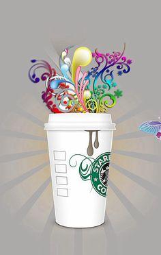 Starbucks is comin' to town! Coffee Tasting, Coffee Drinks, Starbucks Cup Drawing, Café Starbucks, Coffee Pack, Coffee Coffee, Happy Drink, Coffee Today, Tea Packaging
