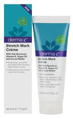 Don't let unsightly stretch marks get you down. Derma e Stretch Mark Creme is a natural alternative to laser treatment, proven to visibly diminish the appearance of stretch marks. A powerful formulati