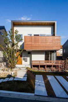 CASE 294   自生していた木が残る家(名古屋市緑区)  ローコスト・低価格住宅 狭小住宅・コンパクトハウス   注文住宅なら建築設計事務所 フリーダムアーキテクツデザイン