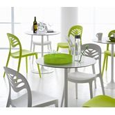 Found it at AllModern - Crown Round Table with ForYou2 Stacking Chairs