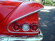 Cherry Red '58 Chevy Impala....