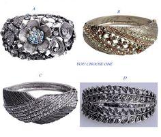 You Choose 1 Vintage Bracelet . Starting at $8 on Tophatter.com!