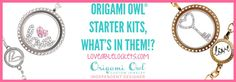 Woohoo!  Origami has launched a second starter kit option for new designers! Thinking about joining the Origami Owl team? You'll want to find out more by checking out my blog post: http://loveablelockets.com
