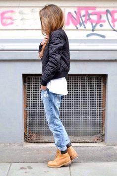 Street style | Timberland boots
