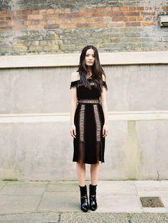 Vintage lace bodysuit - Stylist's own Model: Li Wei ♥♥♥ Stylist: Verity Pemberton for MOON magazine ♥♥♥