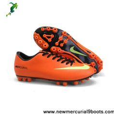 Nike Mercurial Vapor IX AG Shoes Orange Yellow Boots Store