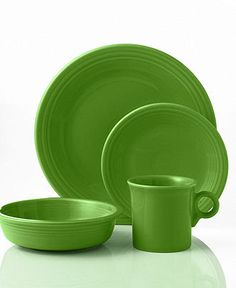Fiesta ware, love this green color
