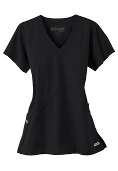 Women's scrub tops made from soft materials, designed to keep you cool and fresh all day. Choose from a variety of scrub top styles at Scrubs & Beyond. Cute Nursing Scrubs, Cute Scrubs, Nursing Clothes, Nursing Uniforms, Grey's Anatomy, Scrubs Uniform, Spa Uniform, Uniform Ideas, Greys Anatomy Scrubs
