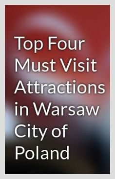"""""""Top Four Must Visit Attractions in Warsaw City of Poland - Important Tips which Visitors Must Keep In Mind during Krakow tour"""" by alenmike12 - """"…"""""""