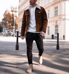 fashion and style ideas - outfit accessories haircut and more.Mens fashion and style ideas - outfit accessories haircut and more. Outfits Hombre, Fall Outfits, Fashion Outfits, Winter Outfits Men, Fashion Shirts, Fashion Hair, Fashion Clothes, Womens Fashion, Stylish Shirts