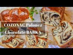 Pentru Crăciunul care se apropie va propun o minunata rețetă de Cozonac polonez cu ciocolata (Babka) foarte ușor de realizat și extrem de gustos Chocolate Babka, Caramel, French Toast, Breakfast, Desserts, Youtube, Poland, Bebe, Bakken