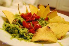 GUACAMOLE e TORTILLAS ~ Behind the Broccoli