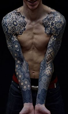 50 Cool Tattoo ideas for Men & Women - purple leaves |  ~*Please Follow Along with Me *~