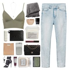 """""""one dance"""" by omgjailah ❤ liked on Polyvore featuring Monki, atelier tete, From the Road, 3.1 Phillip Lim, Butter London, Davines, NARS Cosmetics, LORAC, Eddie Borgo and Chanel"""