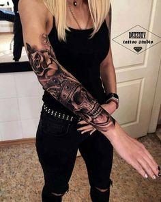 Resultado de imagen para sleeve tattoos for women