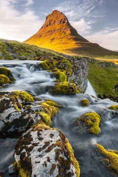 Kirkjufell - The Church Mountain. Iceland Photo by Fulvio Silvestri -- National Geographic Your Shot