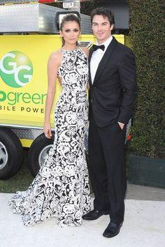 Nina Dobrev and Ian Somerhalder  Sexy Couple   Teemix