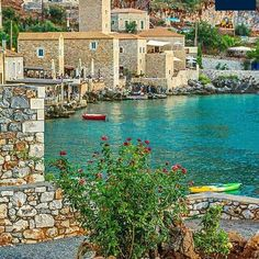 The sleepy sea side village of in Inner Mani, Peloponnese, Greece. A hidden gem for the seasoned traveler! Greece Vacation, Greece Travel, Beautiful World, Beautiful Places, Amazing Photography, Travel Photography, Places In Greece, Greek Isles, Its A Wonderful Life