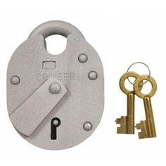 Single Cylinder Anti Jemmy Front Door Deadlock-Chrome Plate-S203SC-FREE POST