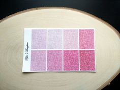 Pink and red glitter headers Erin Condren and by TapiosDaughter