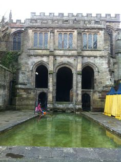 The holy spring of St Winifred, an important center of medieval pilgrimage still venerated today, is said to have risen where St Beuno restored his niece St Winifred to life after her head had been severed by Cardoc, a rejected suitor.