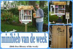 3rd Street little free library st Clair Michigan. Minibieb van de week 25, bij jet's Minibieb.