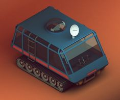 30 isometric renders in 30 days - Michiel van den Berg - animation & design