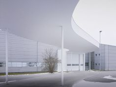 Factory Building on the Vitra Campus by SANAA   METALOCUS