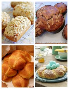 Easter Breads from Around the World -- recipe round-up and link-up.